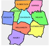 Find Schools First Nashville TN Map