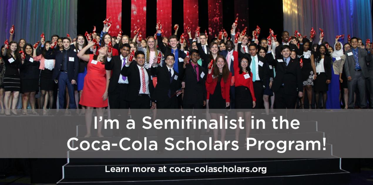 Coca Cola Scholars